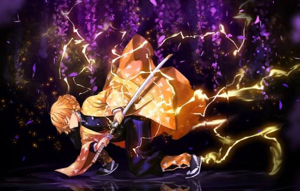 Картинка Аниме, online, Demon Slayer Kimetsu no Yaiba, Kimetsu no Yaiba, Blade of Demon Destruction, Клинок …
