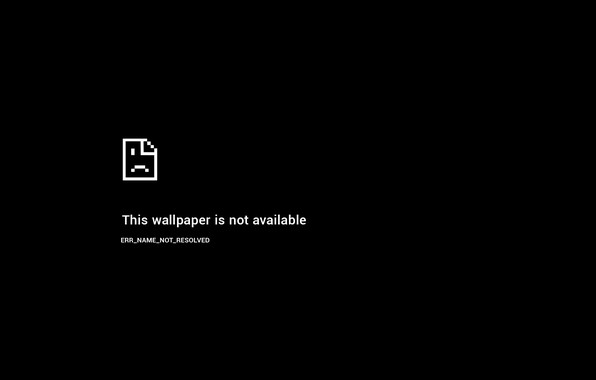 Картинка minimalism, black background, error, simple background, wallpaper not available, Windows error, page not found