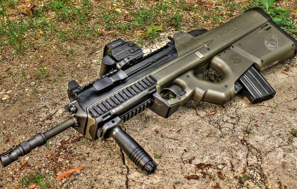 Картинка оружие, Автомат, Gun, weapon, Штурмовая винтовка, Assault Rifle, FN 2000, ФН 2000