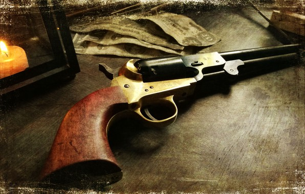 Картинка Revolver, Hell on Wheels, Cullen Bohannon, Griswold & Gunnison