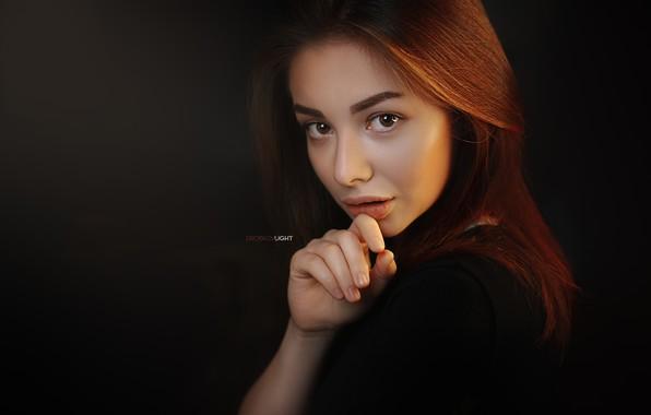 Картинка взгляд, портрет, Девушка, Alexander Drobkov-Light, Sue Tikhonova