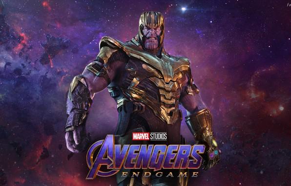 Картинка космос, space, Thanos, Танос, Avengers: Endgame, Мстители Финал, mad titan, безумный титан