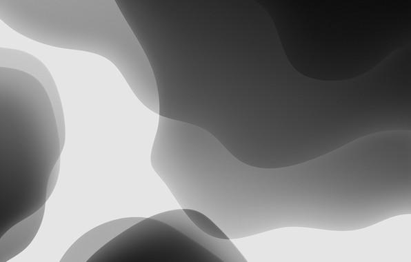 Картинка white, grey, background, iOS 13