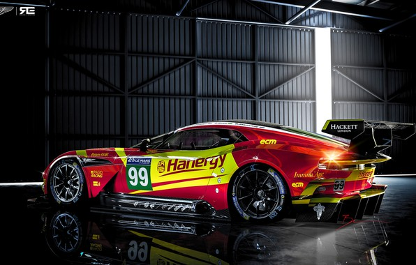 Картинка Aston Martin, Авто, Le Mans, Рендеринг, GTE, Спорткар, Vulcan, Aston Martin Vulcan, Benoit Fraylon, by ...