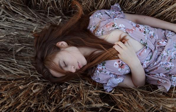 Картинка девушка, сон, Aleks Five