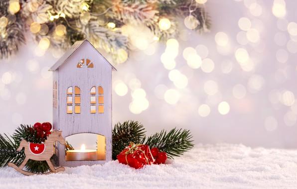 Картинка зима, снег, снежинки, Новый Год, Рождество, happy, Christmas, winter, snow, Merry Christmas, Xmas, decoration