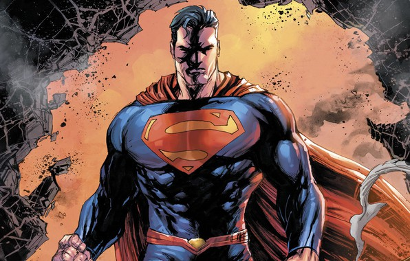 Картинка logo, fantasy, man, comics, coat, Superman, artwork, superhero, costume, fantasy art, DC Comics, Clark Kent