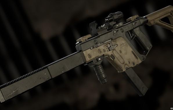 Картинка рендеринг, оружие, gun, weapon, render, kriss vector, kriss super vector, kriss super v, sub machine …
