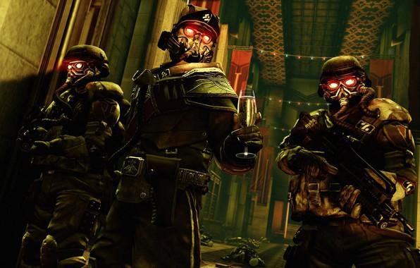 Картинка killzone, army, helghast