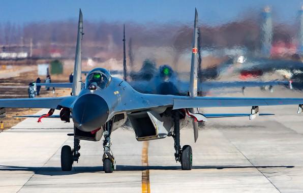 Картинка fighter, weapon, jet, Su-27, J-11, shengyang J-11