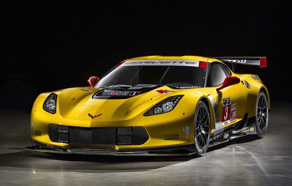 Картинка Corvette, Chevrolet, GT2, C7.R, 2014-19