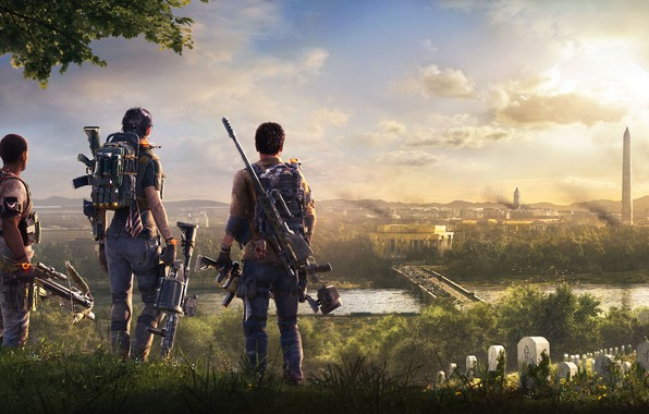 Картинка Ubisoft, Game, Tom Clancy's The Division 2