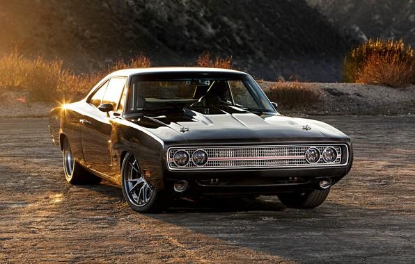 Картинка Dodge, Charger, 1970, Dodge Charger, Muscle Car, Додж Чарджер