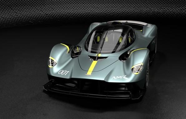 Картинка машина, Aston Martin, спортивная, диски, гиперкар, Valkyrie