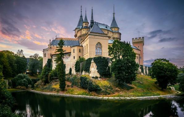 Картинка замок, Trencin, Bojnice
