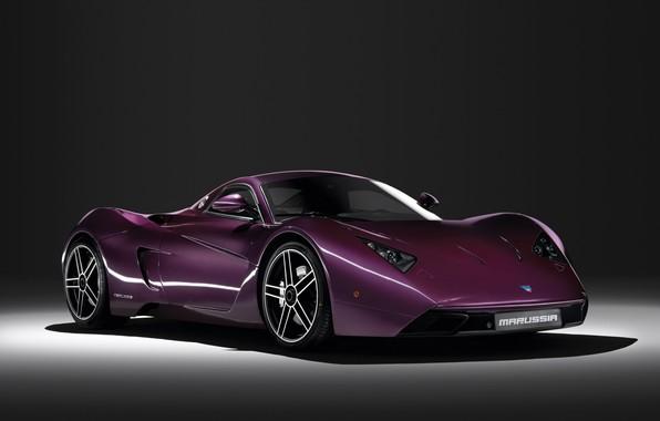 Картинка Фиолетовый, Суперкар, Marussia B1