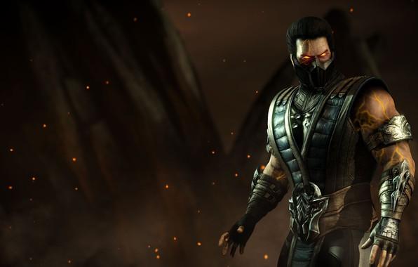 Картинка ninja, Sub-Zero, Mortal Kombat X, MKX, revenant, Kuai Liang