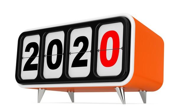 Картинка праздник, часы, Новый год, New Year, 2020