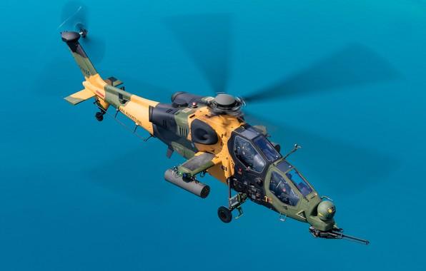 Картинка ударный вертолёт, T-129B, ВВС Турции