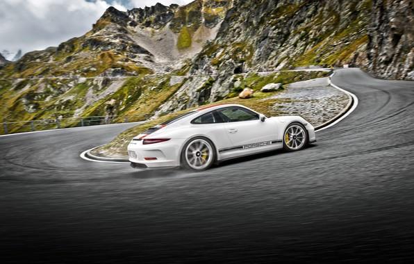 Фото обои 911, Porsche, вид сзади, Coupe