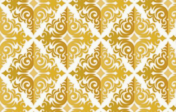 Картинка текстура, золотой, gold, орнамент