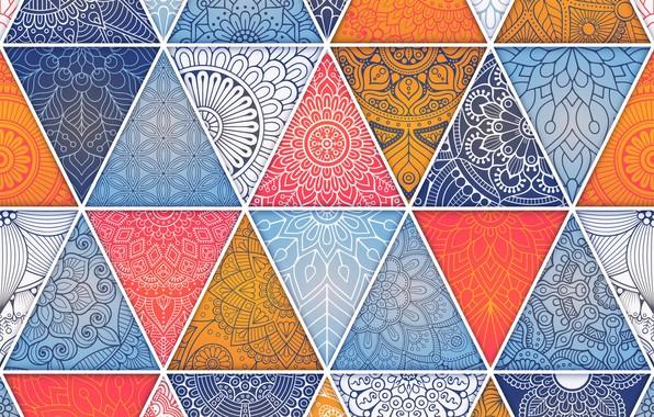 Обои абстракция, узор, текстура, геометрия, орнамент