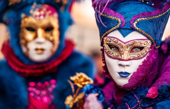 Картинка стиль, маска, Италия, Венеция, карнавал