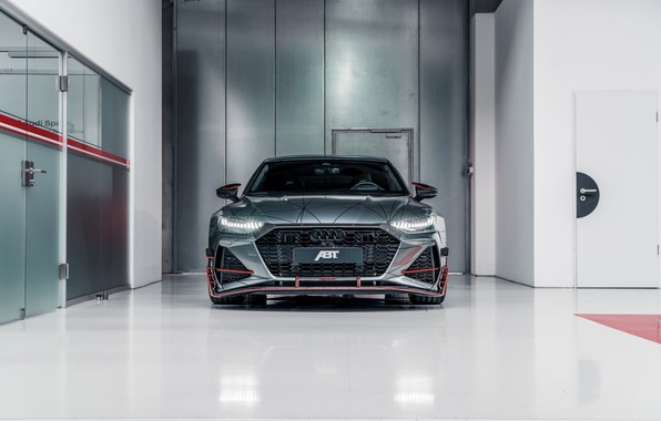 Картинка Audi, вид спереди, ABT, RS 7, 2020, RS7 Sportback, RS7-R