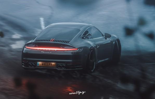 Картинка 911, Porsche, Microsoft, Carrera S, Forza Horizon 4, by Wallpy