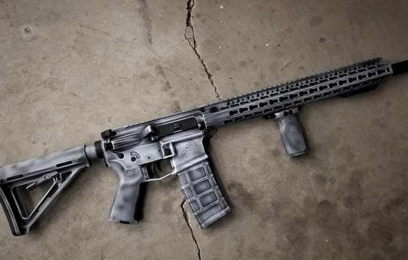 Картинка оружие, винтовка, weapon, custom, ar-15, assault rifle, assault Rifle, ар-15, ар 15, ar 15