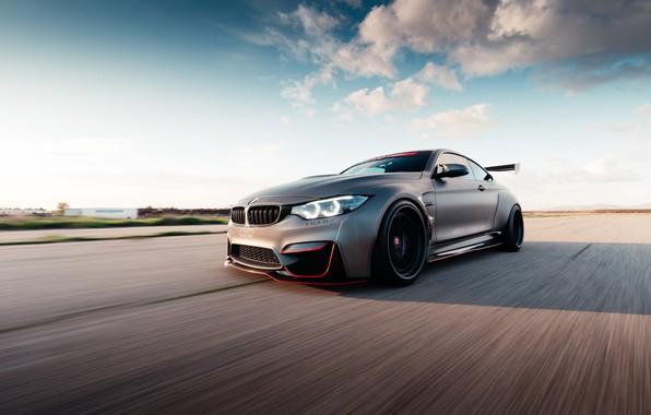 Картинка BMW, road, speed, BMW M4