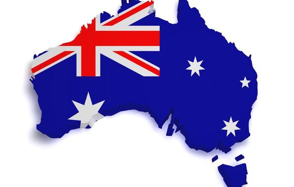 Картинка флаг, австралия, custom, рендер, flag, australia, границы