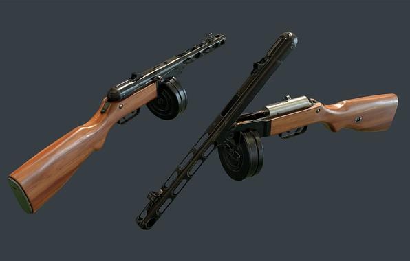 Картинка Легенда, ППШ-41, Пистолет-пулемёт Шпагина
