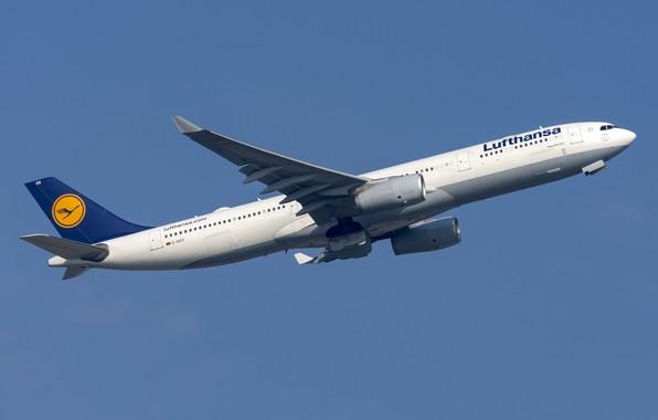 Картинка самолёт, лайнер, Airbus, A330-300
