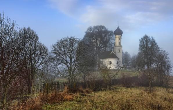 Картинка Germany, Bavaria, Chapel, Sankt Sebastian
