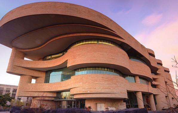 Картинка Вашингтон, США, Национальный музей американских индейцев