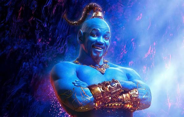 Картинка Aladdin, Аладдин, Джин