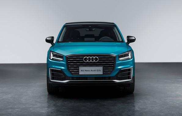 Картинка вид спереди, Quattro, 2018, кроссовер, 35 TFSI, Audi Q2, Q2L