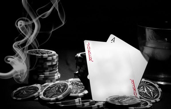 Картинка карты, фишки, покер