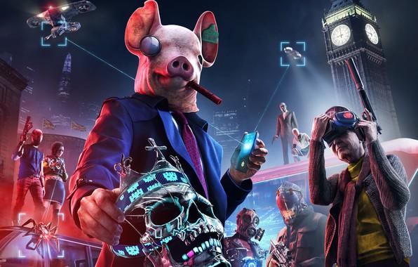 Картинка UbiSoft, DedSec, Watch Dogs Legion