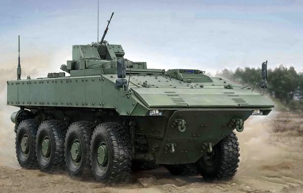 Картинка боевая бронированная машина, Бумеранг, средней весовой категории, Унифицированная боевая платформа шифра «Бумеранг», колёсная платформа, перспективная …