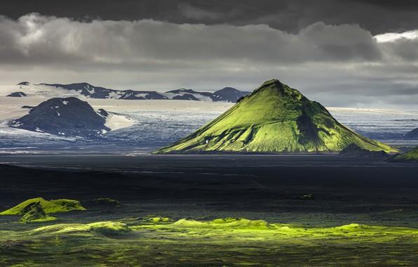 Картинка Highlands, Iceland, Volcano