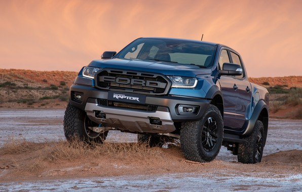 Картинка Ford, Raptor, пикап, Ranger, 2019