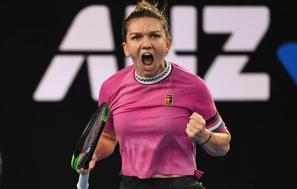Картинка Sport, Simona, Tennis, WTA, Romanian, Simona Halep, AO 2019, Australia Open 2019, AusOpen 2019, Halep