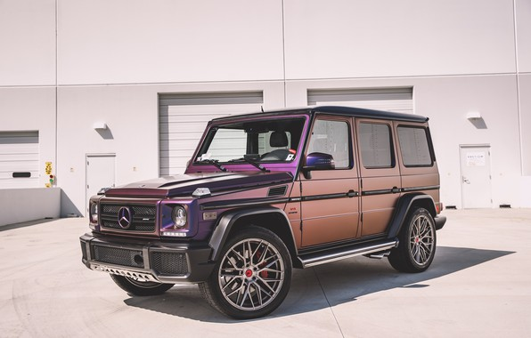 Картинка Mercedes, Purple, AMG, G63, W463, G-class