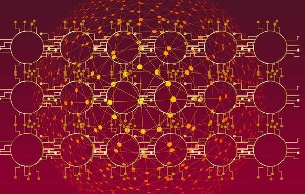 Картинка данные, ячейки, блок-цепь