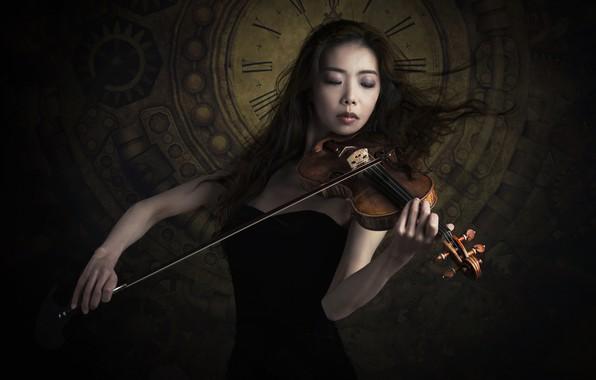 Картинка музыка, скрипка, Sayaka Kinoshiro