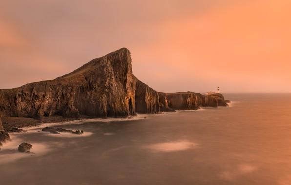 Картинка Scotland, Isle of Skye, Neist Point Lighthouse