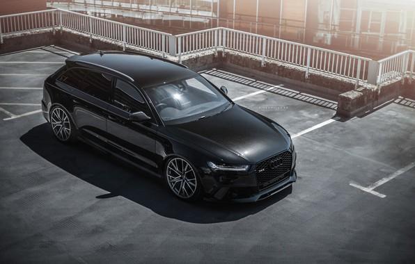 Картинка Audi, Ауди, auto, Black, RS6, рс6