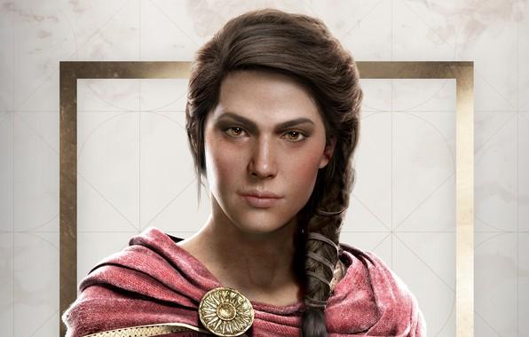 Картинка game, Kassandra, Ubisoft, Assassin's Creed, 2018, Odyssey, Assassin's Creed Odyssey
